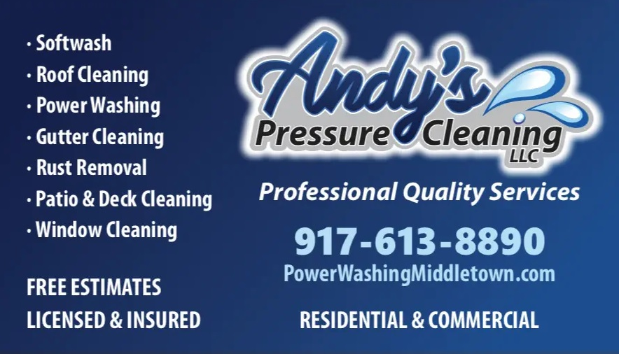 Residential power washing in Middletown