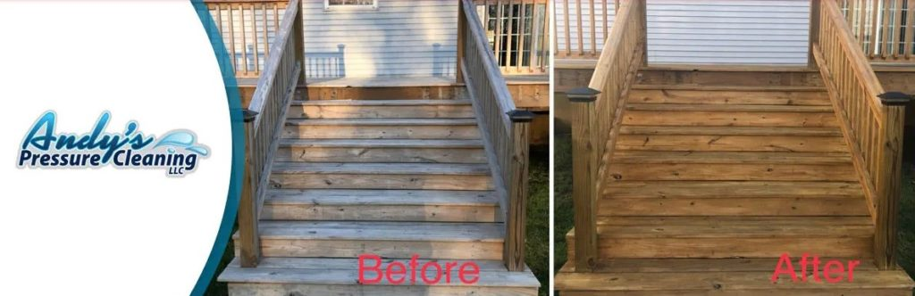 Deck restoration in Middletown