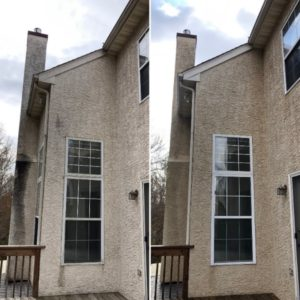 Stucco Washing