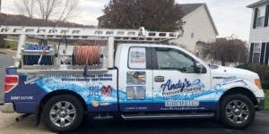 Andy's Pressure Wash truck
